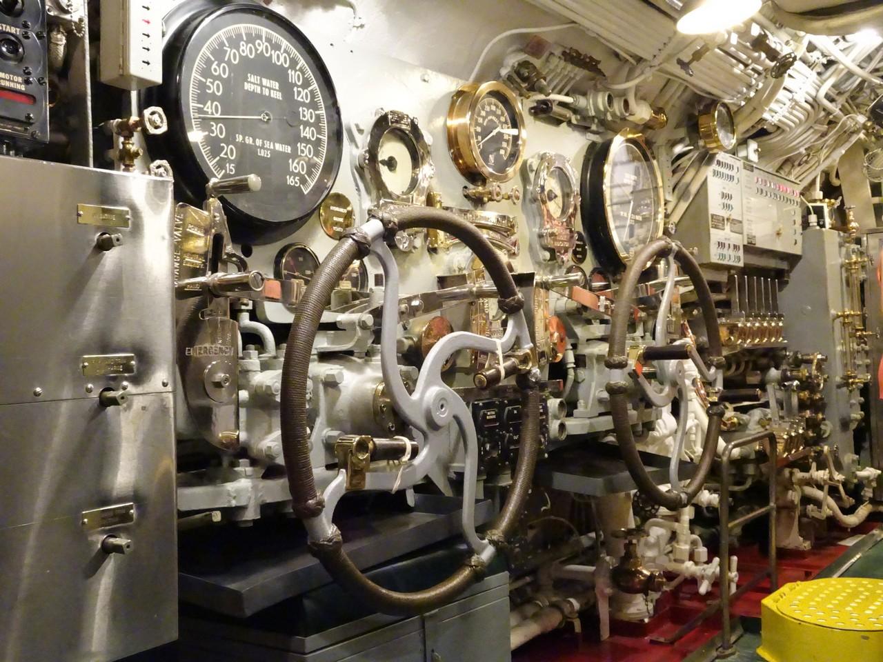 USS Bowfin submarine