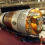 A polaris missile