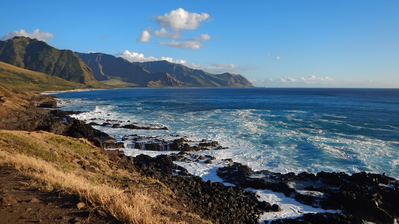 Kaena point, looking south